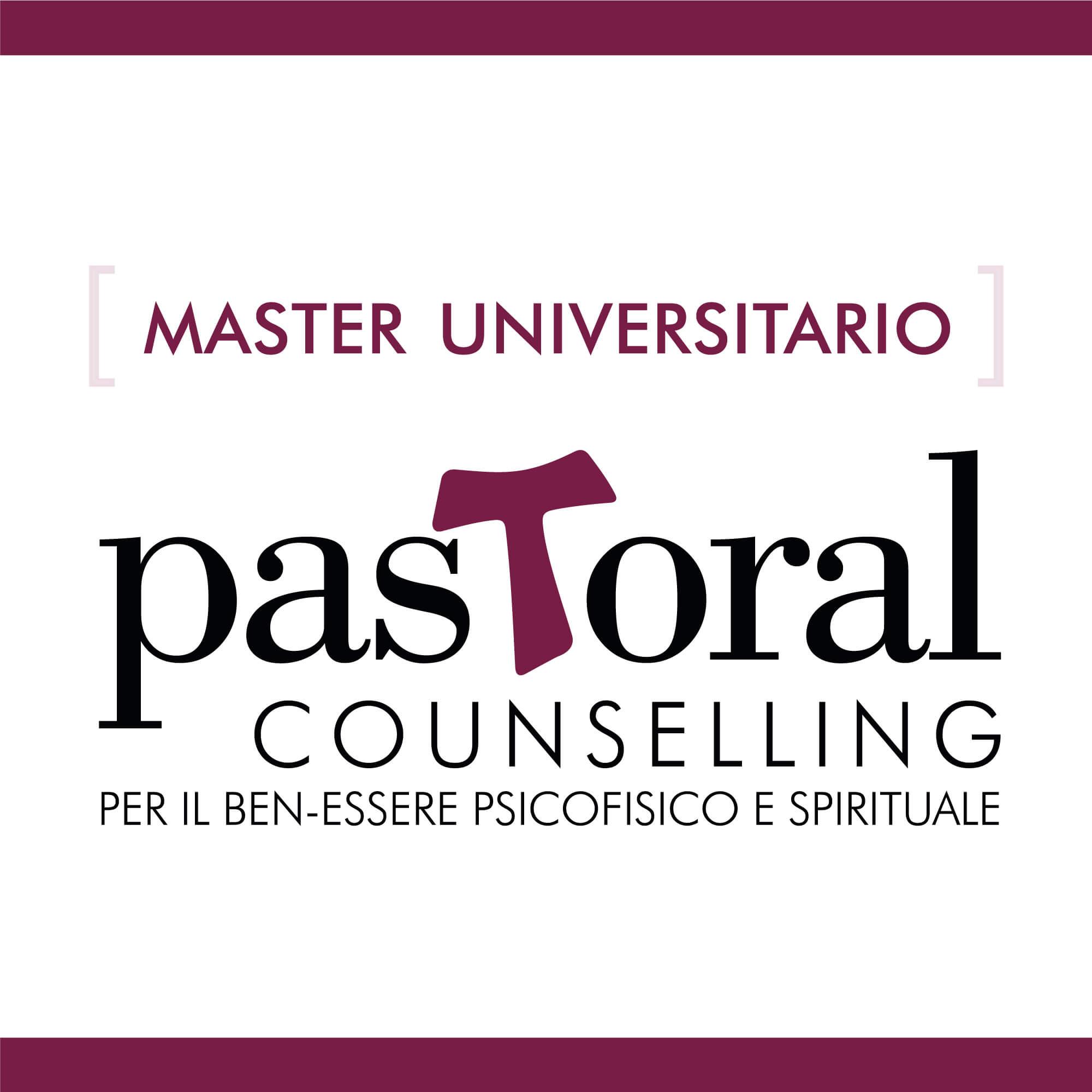 Pastoral Counselling per il ben-essere psicofisico e spirituale – Master universitario di primo livello