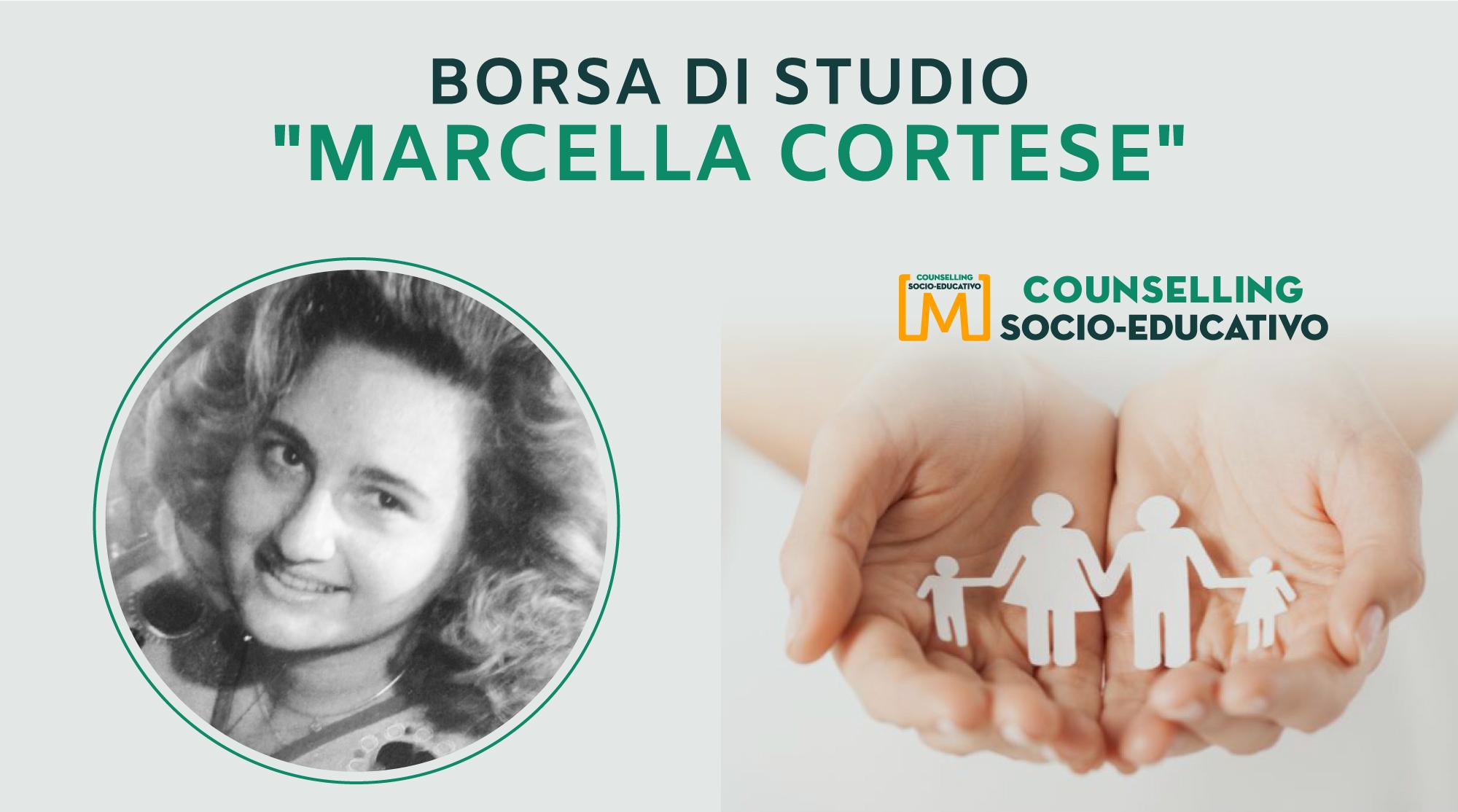"""Borsa di studio """"Marcella Cortese"""", per gli iscritti al Master Socio-Educativo"""